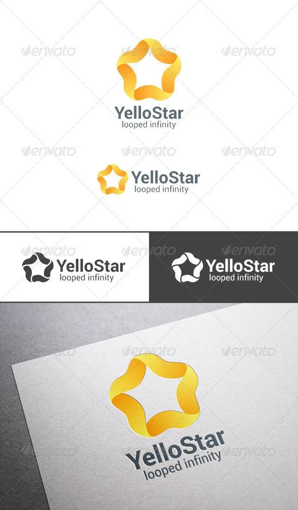 Star Loop Logo Infinity Abstract - Symbols Logo Templates