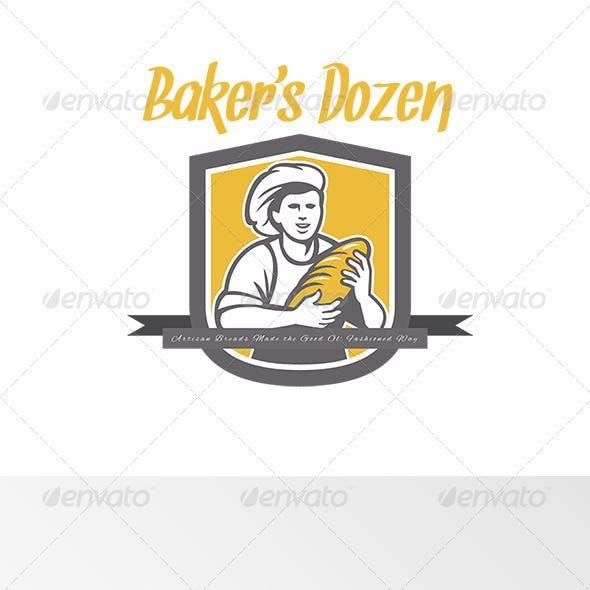 Baker's Dozen Artisan Breads Logo