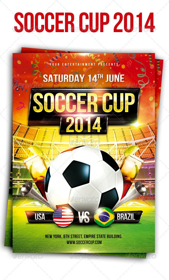 Soccer Cup Flyer - Sports Events