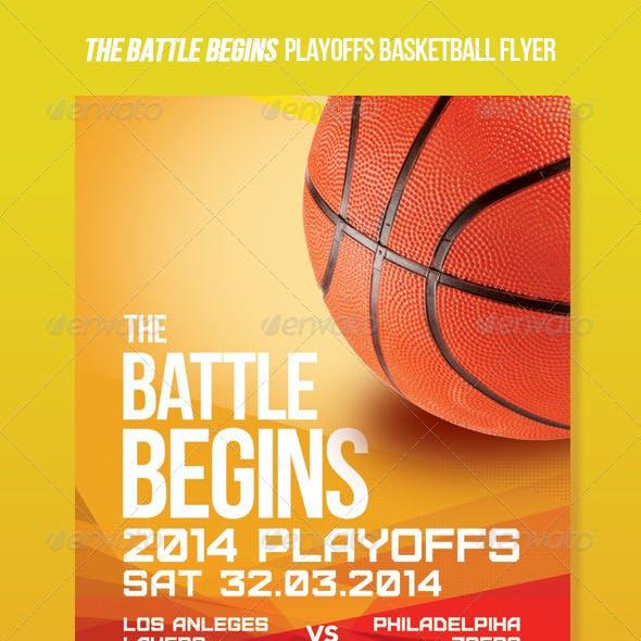 The Basketball Championship Promo Flyer