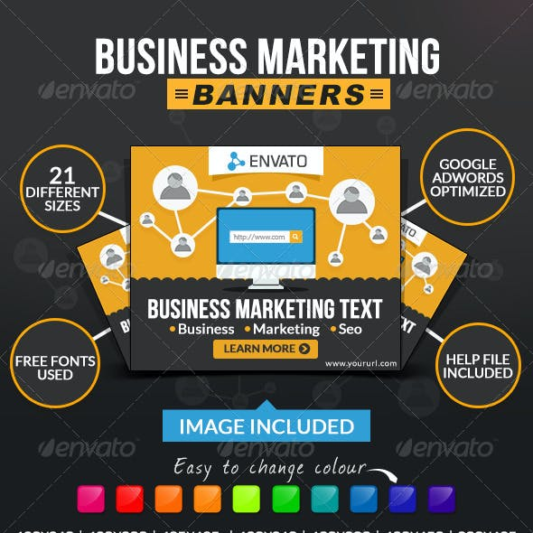 Business & Marketing Banners