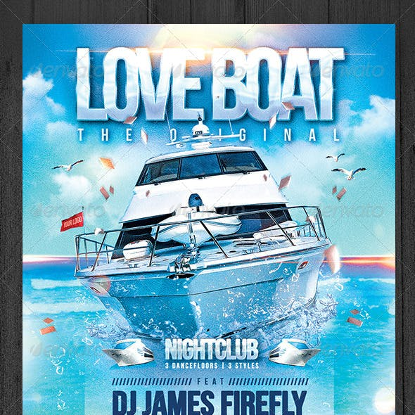 Love Boat Flyer