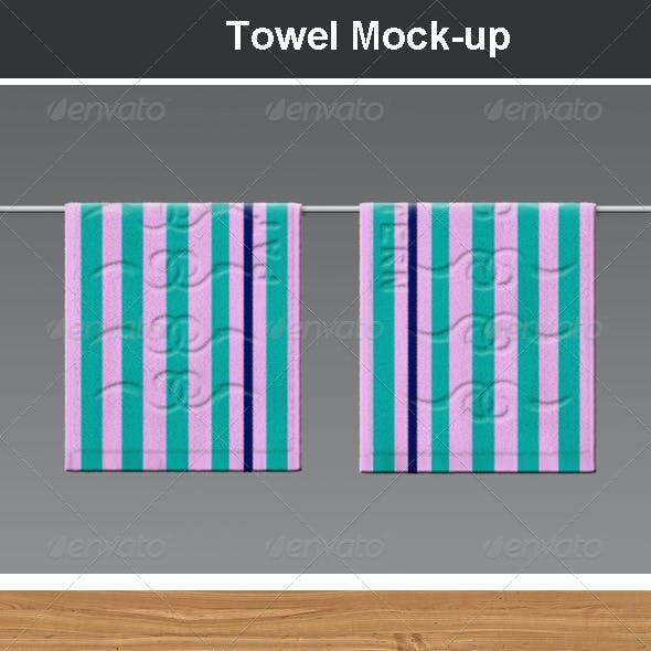 Towel Mock-up