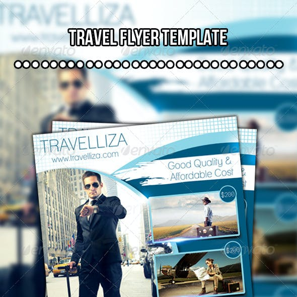 Travelliza Flyer (Travel Flyer Template)