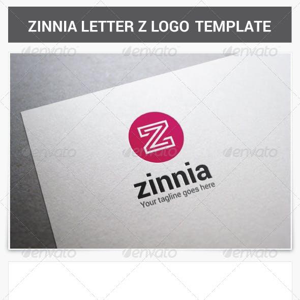Zinnia Letter Z Logo