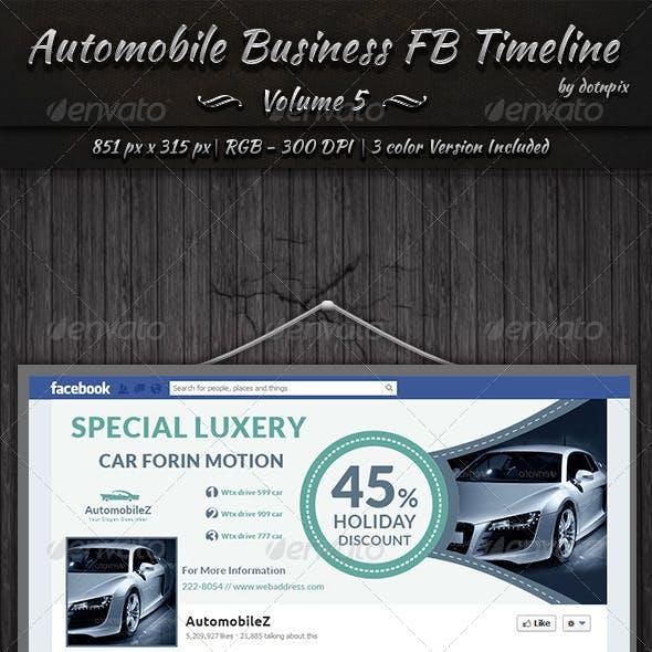 Automobile Business FB Timeline | Volume 5