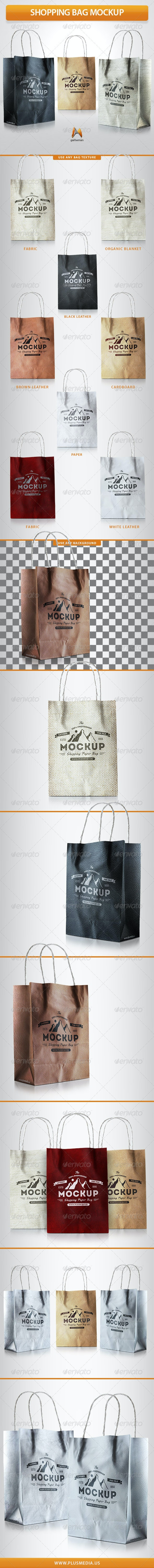 Shopping Bag Mockup - Print Product Mock-Ups