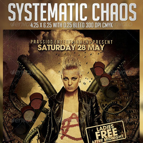 Systematic Chaos Flyer Template