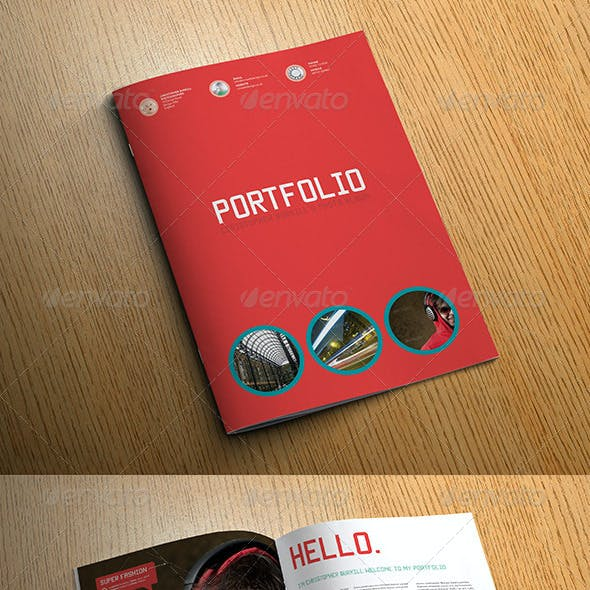 Sleek Photo Album Portfolio