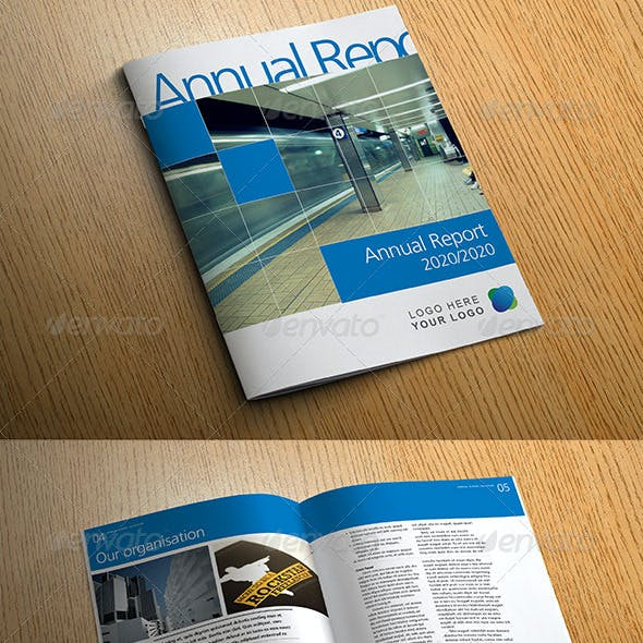 Bright Annual Report, Business Brochure