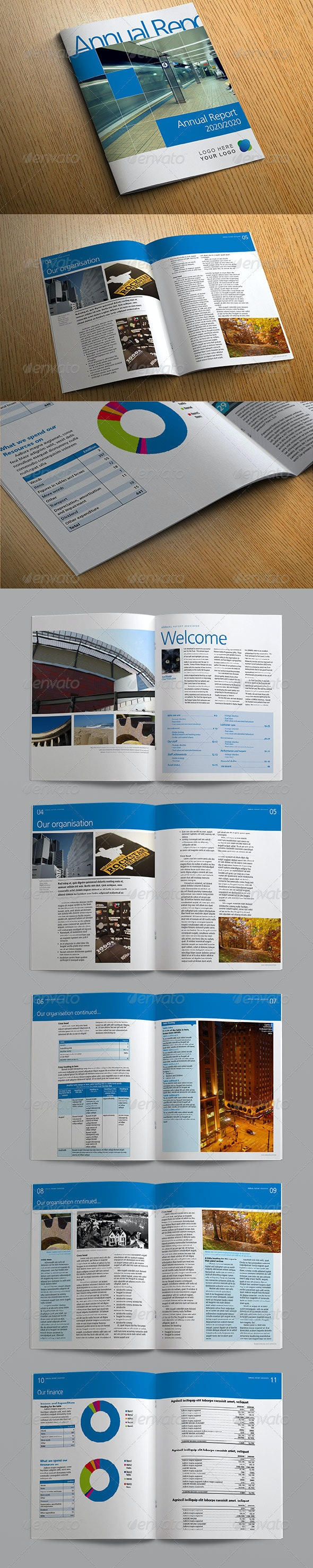 Bright Annual Report, Business Brochure - Informational Brochures
