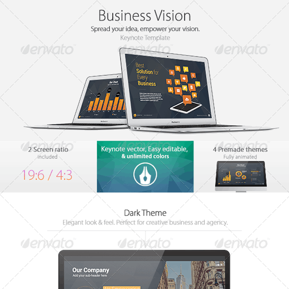 Business Vision - Keynote Template