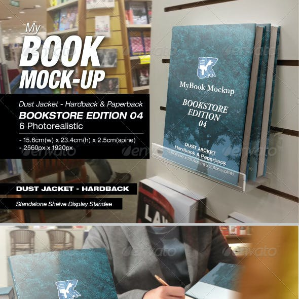 Bookstore Edition 04 Mock-up