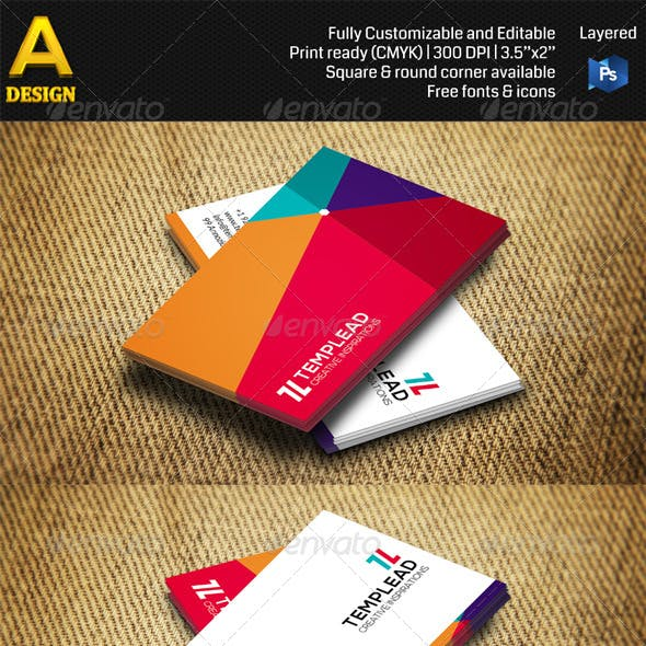 Creative Business Card AN0379