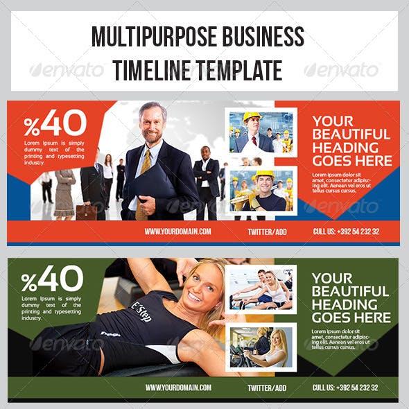 Multipurpose Banner Timeline Template