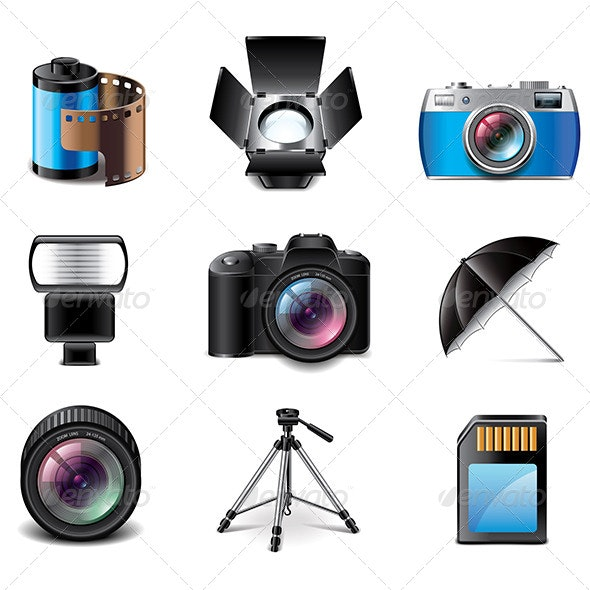 Photography Equipment  - Technology Conceptual
