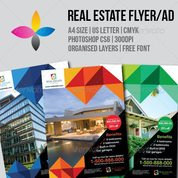 Real Estate Flyer/AD