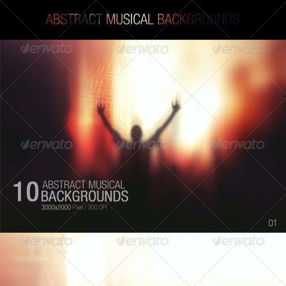 Abstract Musical Backgrounds