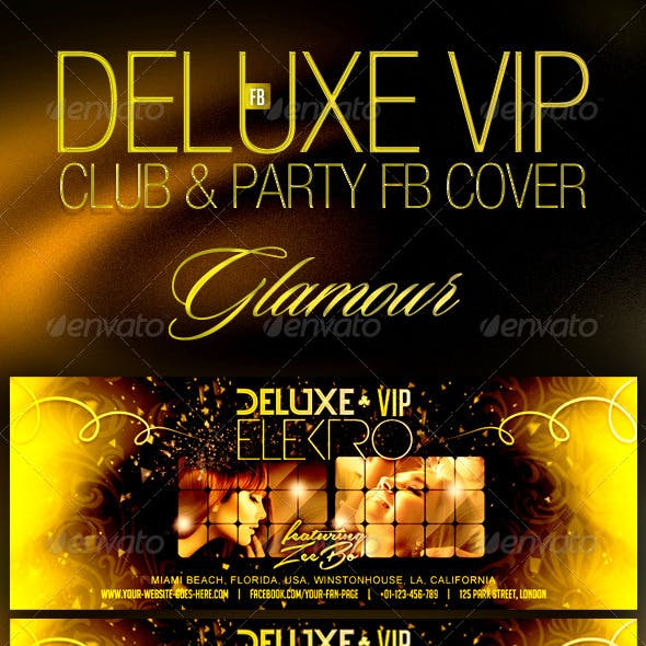 Deluxe VIP Club Party FB Cover