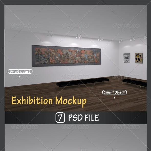 Exhibition Mockup