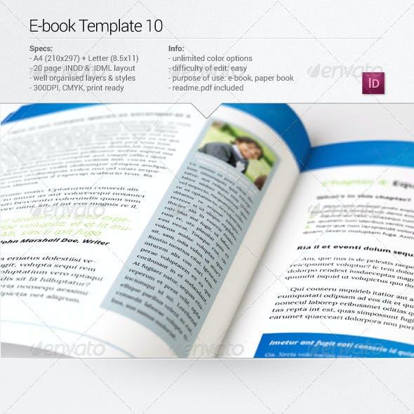 E-book Template 10
