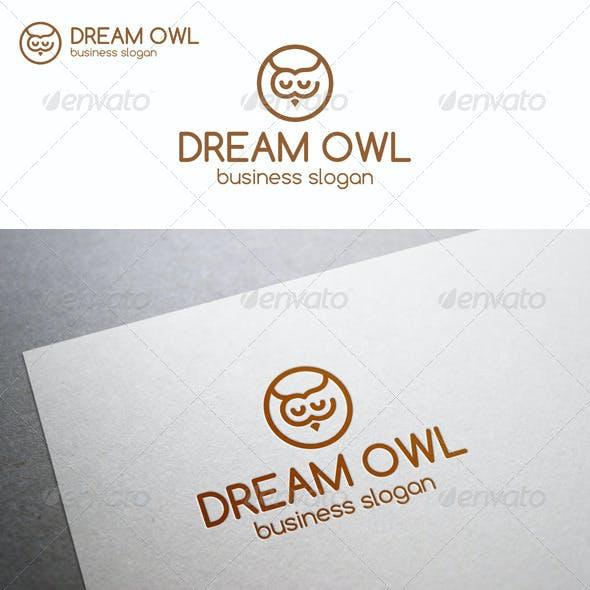Dream Owl Logo Template