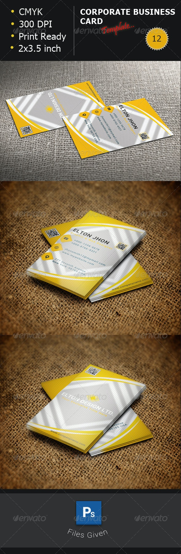 Creative-Yellow-Business-Card-12 - Creative Business Cards