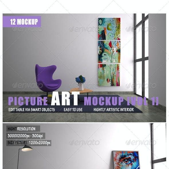 Picture Art Mockup [Vol 1]