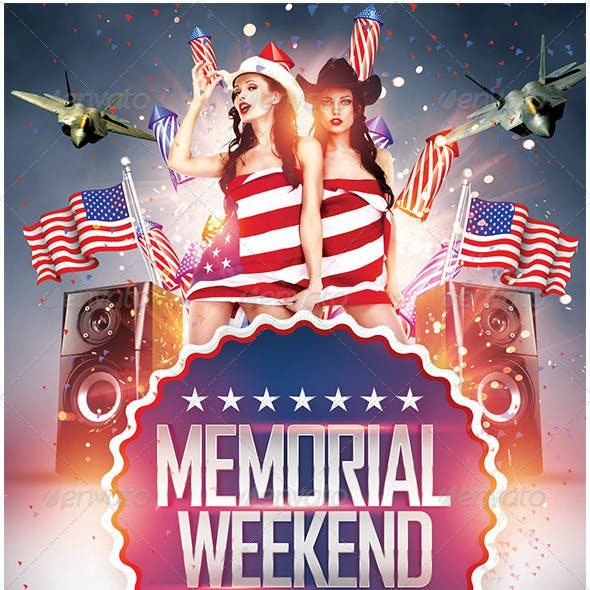 Memorial Day Weekend and 4th July Flyer