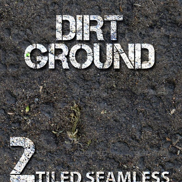 Dirt Ground - Tiled Texture