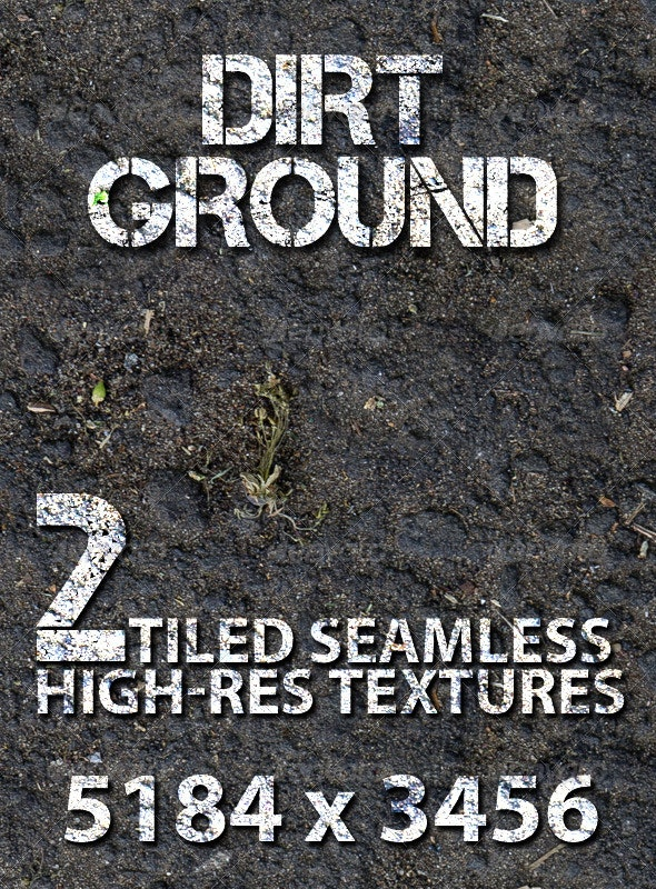 Dirt Ground - Tiled Texture - Nature Textures