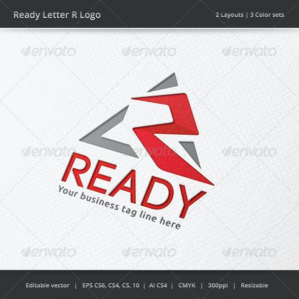Ready Letter R V2  Logo
