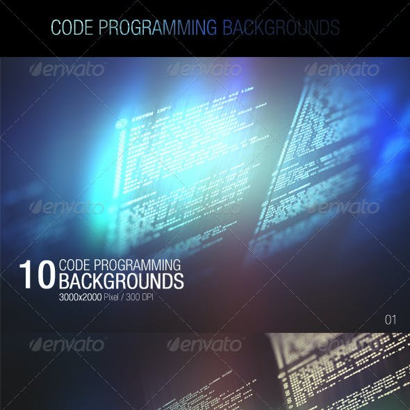 Code Programming Backgrounds