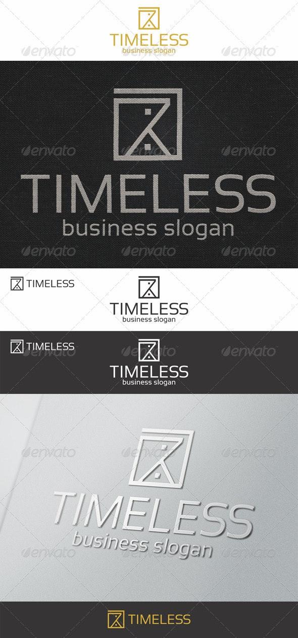 Sand Clock - Timeless Logo - Abstract Logo Templates