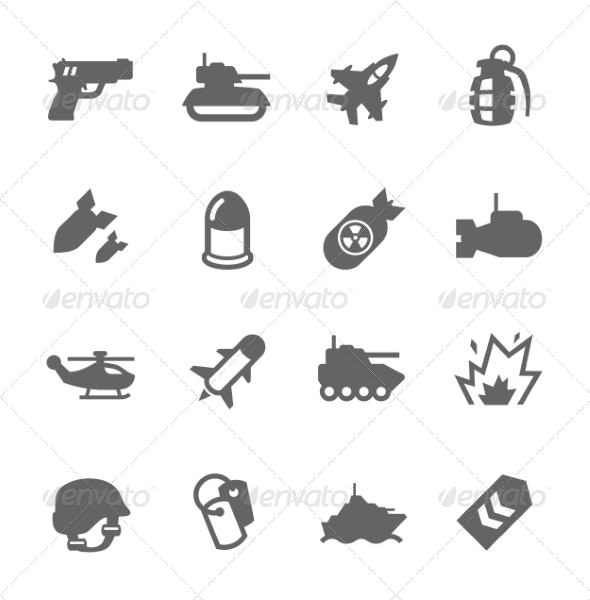 Military Icons - Icons