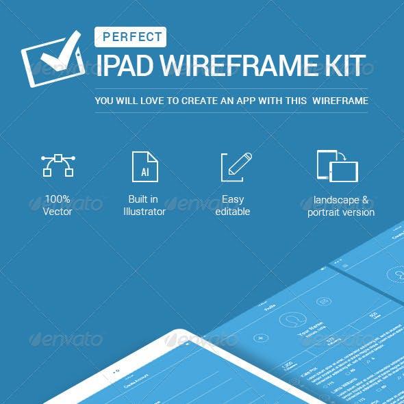 IPad Wireframe Kit