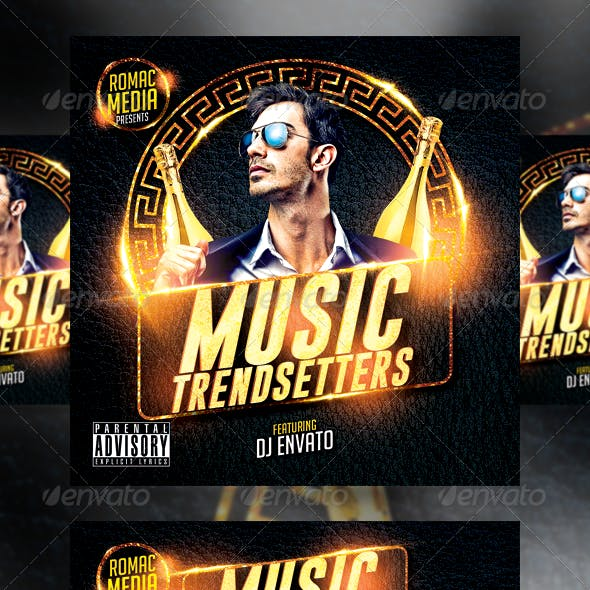 Music Trend CD Cover