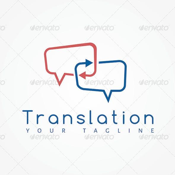 Translation Logo Template