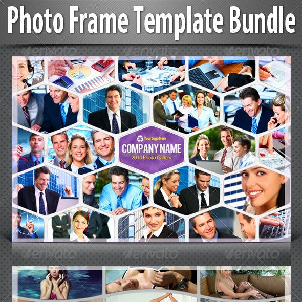 Photo Frame Templates Bundle