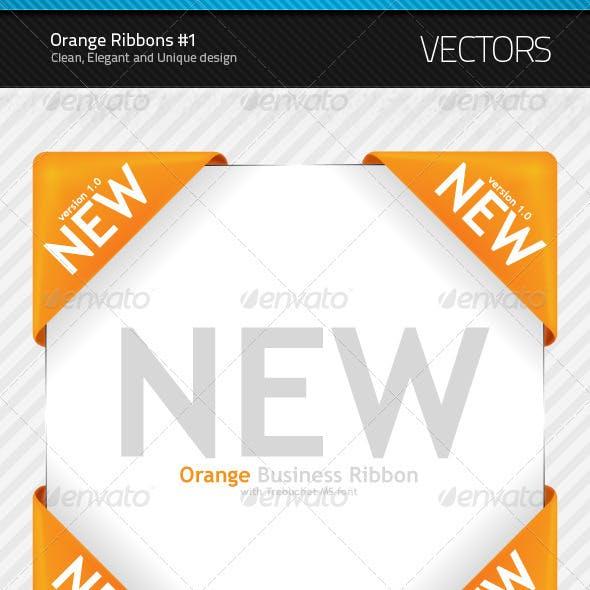 New Orange Ribbon #1
