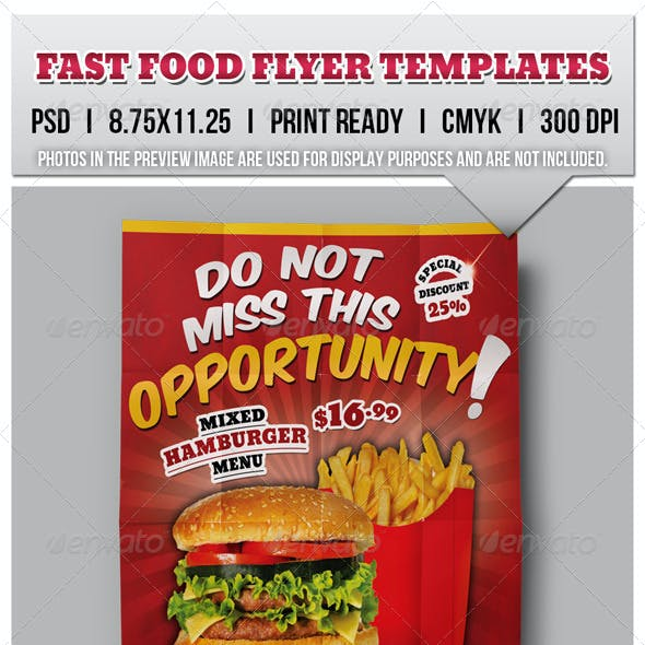 Fast Food Flyers 04