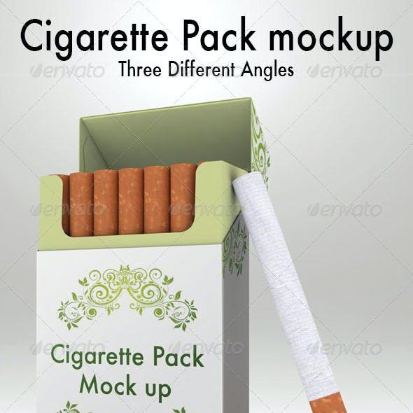 Cigarettes Pack Mockup