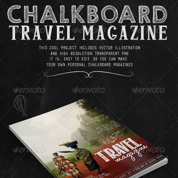 Travel Chalkboard Magazine