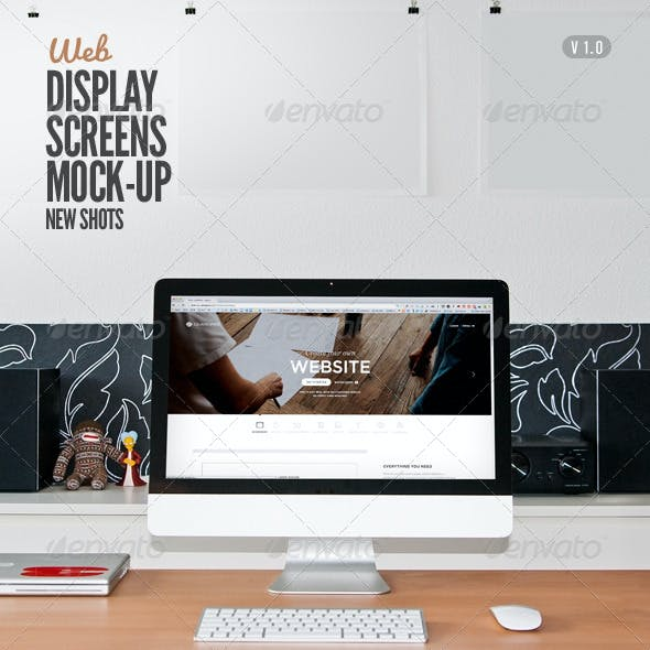 Display Screen Web Mock-Up
