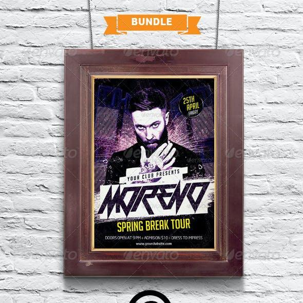 Poster / Picture Frame Mock-up Bundle