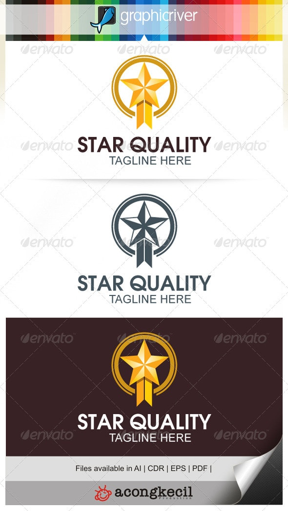 Best Quality - Crests Logo Templates