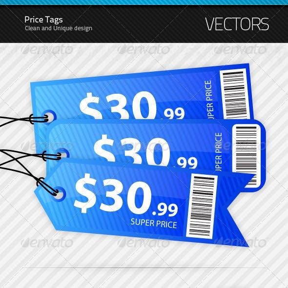 3 Price Tags