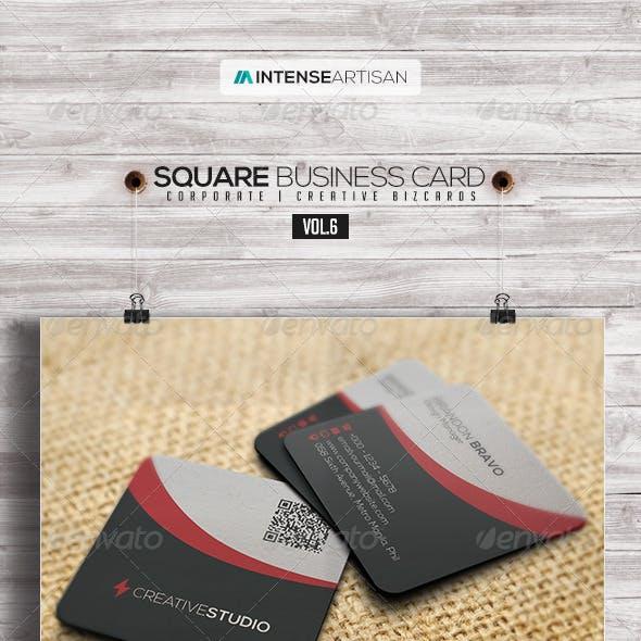 Square Business Card V.6