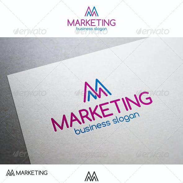 M Marketing Stats Logo