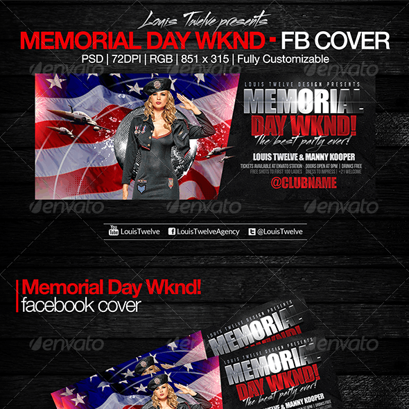 Memorial Day Wknd - Facebook Cover